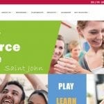 Saint John Family Resource Centre - Built by Eagle Digital Media